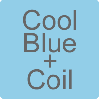 Cool Blue Memory Foam & Open Coil