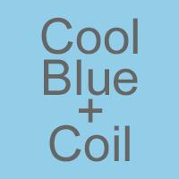Cool Blue Memory Foam & Open Coil