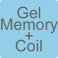 Gel Memory Foam & Open Coil