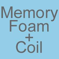 Memory Foam & Open Coil