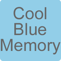 Cool Blue Memory Foam