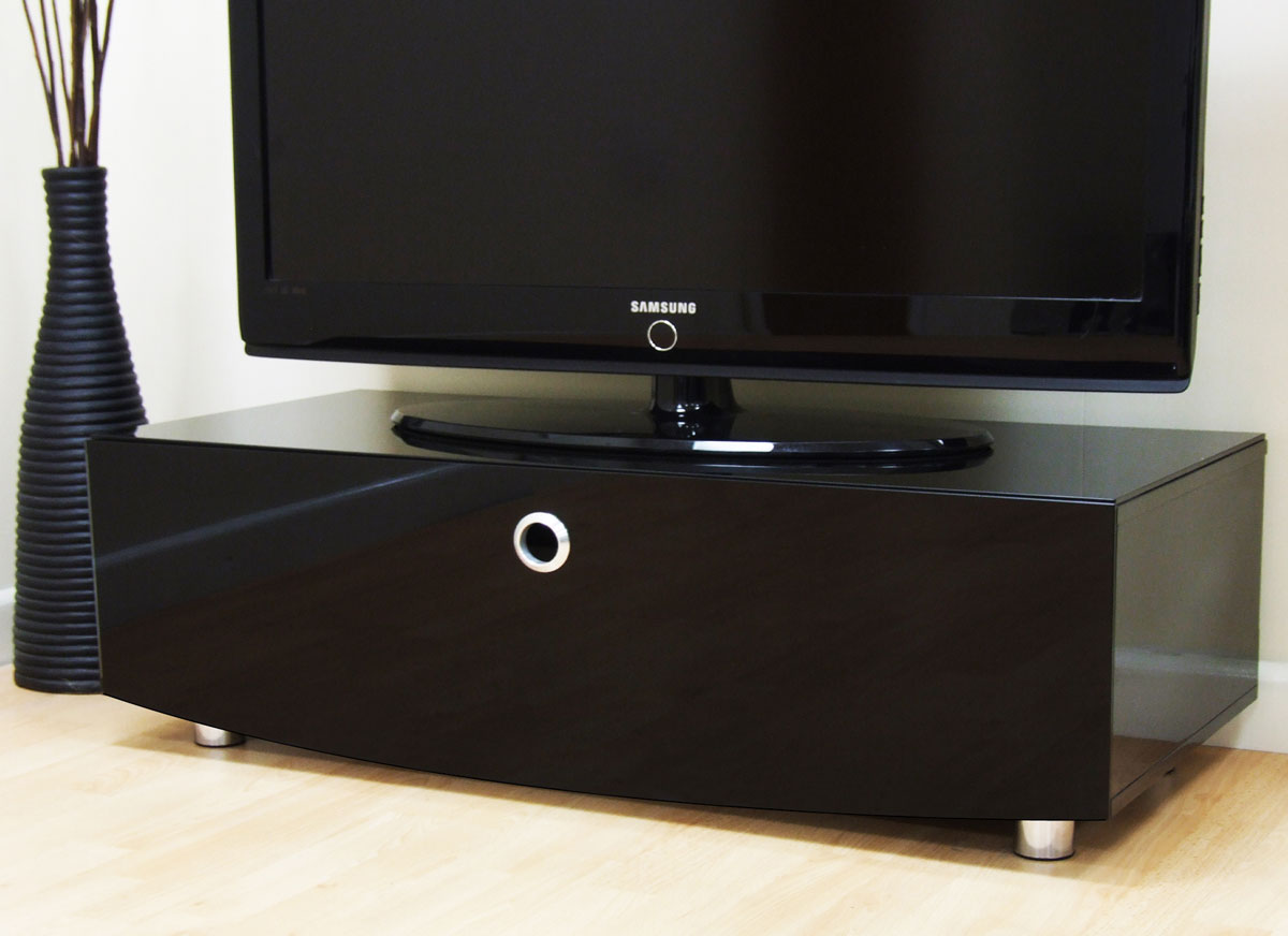 MDA Designs Curve 1000 TV Stand For Up To 50 TVs Black