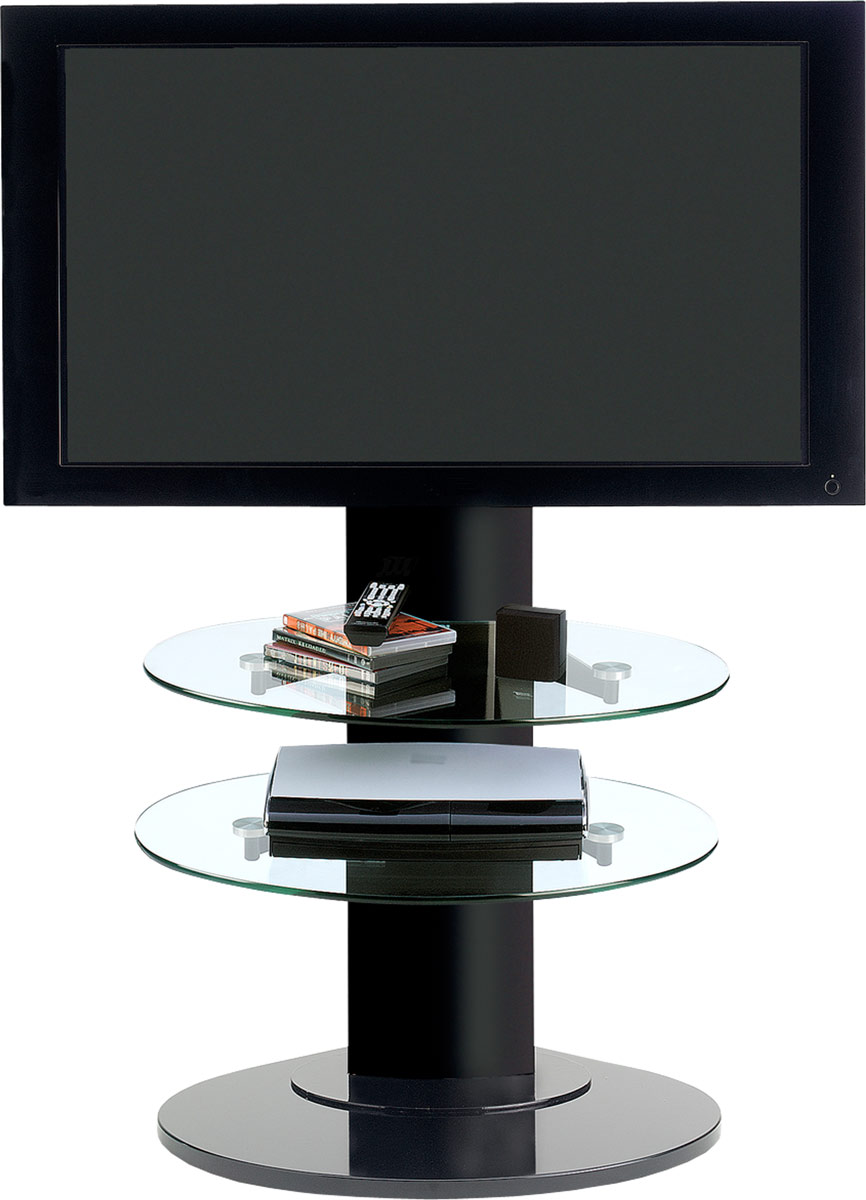 Bdi Vista 9960 Cantilever Tv Stand Black