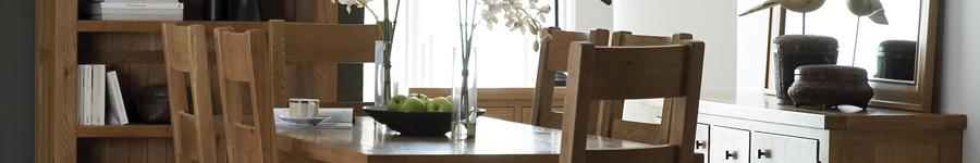 Hampton Oak Dining and Living