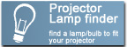 Replacement Lamps for every Data and Video Projector or TV ever made.
