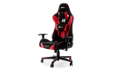 Selsey Gaming Chair with Racer GTR Pillows - Black/Red Flame-Retardant