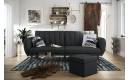 Brittany Sofa Bed- Dark Grey