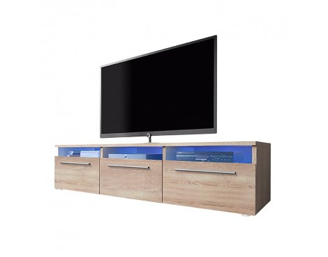 """Selsey Lavello 1500  TV Stand for TVs up to 48\"""" - Sonoma Oak"""