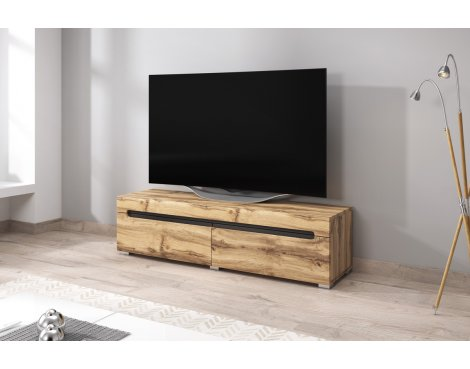 "Selsey Taylor 1400 TV Stand for TVs up to 64"" - Oak"