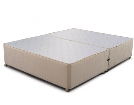 Sleepeezee Divan Base - No Drawer - Marble - Double 4ft6