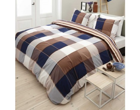 Primaviera Deluxe SL 49 Jaimy Duvet Cover Set - Brown - Single 3ft