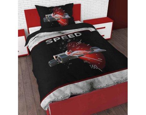 Sleep Time Speed Duvet Cover Set For Kids - Multicoloured - Single 3ft
