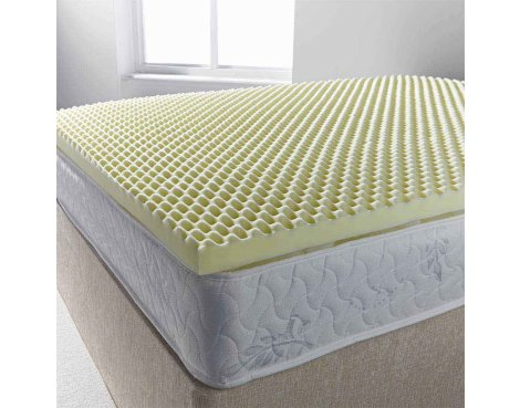 Ultimum egg profiled foam mattress topper - double 4ft6