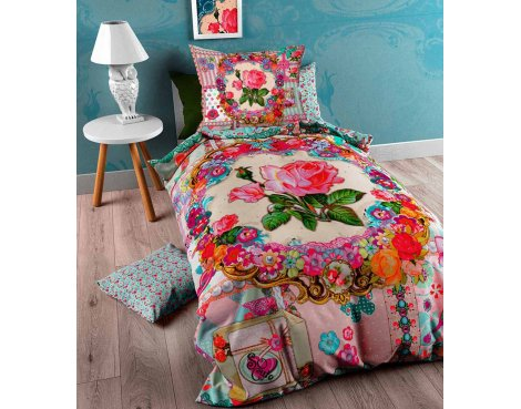 So Cute Lynn Duvet Cover Cover For Kids - Multicoloured - Single 3ft