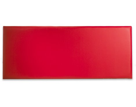 Joseph Naples PU Leather Headboard - Red - Super King 6ft