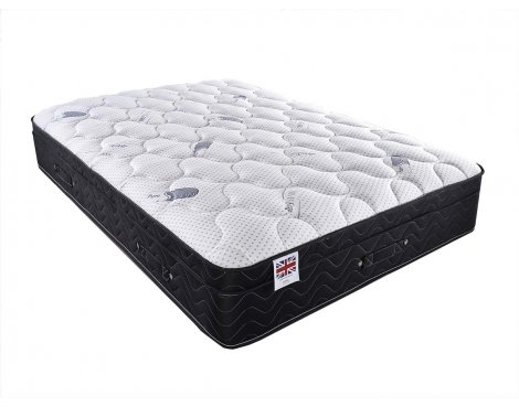 Luxan Pure Sleep Memory 8000 Mattress - Double Mattress 4ft6