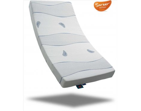 Sareer Cool Blue Memory Foam Mattress - Medium - Small Double 4ft