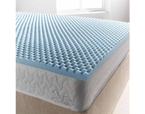 Ultimum coolblue egg mattress topper 350 - double 4ft6