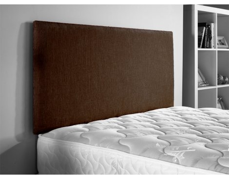 ValuFurniture Chenille Fabric Headboard - Brown - Super King 6ft