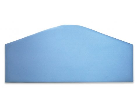 Joseph Jersey Suede Headboard - Blue - King 5ft