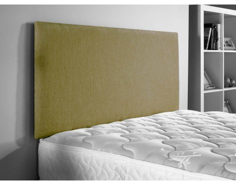 ValuFurniture Doll Chenille Fabric Headboard - Lime - Super King 6ft