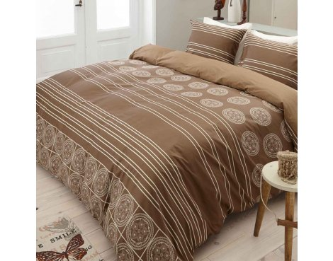 Primaviera Deluxe SL 38 Lizzy Duvet Cover Set - Beige - Single 3ft