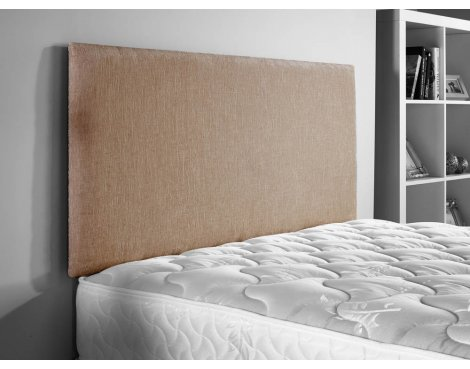ValuFurniture Doll Chenille Fabric Headboard - Mink - Small Double 4ft