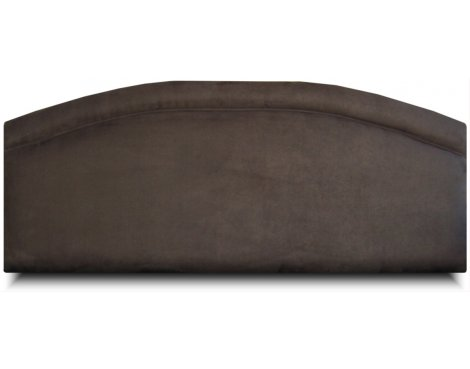 Joseph Paris PU Leather Headboard - Brown - Single 3ft