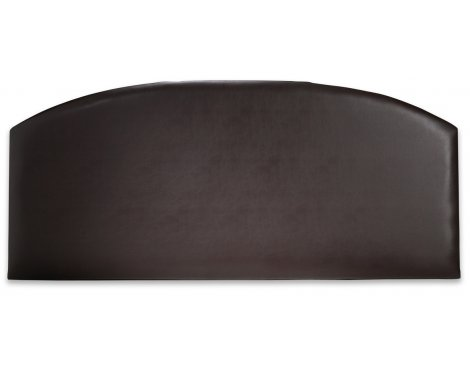 Joseph Madrid PU Leather Headboard - Brown - Single 3ft
