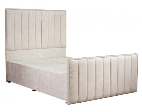 Luxan Hampstead Light Colours Bed Frame - Cream - Single 3ft