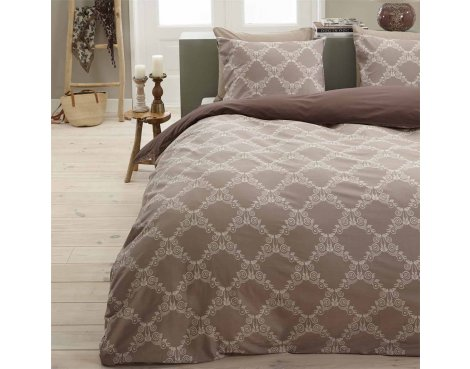 Primaviera Deluxe SL 39 Ivy Duvet Cover Set - Beige - Single 3ft