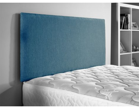 ValuFurniture Doll Chenille Fabric Headboard - Teal - Small Double 4ft