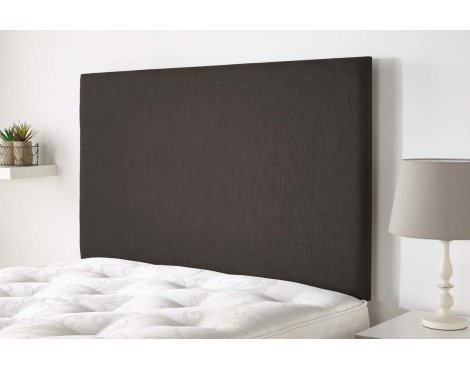 Aspire Furniture Derwent Headboard in Malham Weave Fabric - Nutmeg - Small Double 4ft