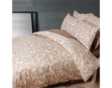 Primaviera Deluxe SL 37 Indy Duvet Cover Set - Beige - Single 3ft