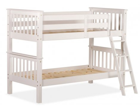 Amani Oxford Single Bunk Bed - No Drawers