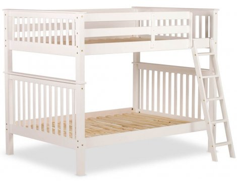 Amani Malvern 4ft Double Bunk Bed - No Drawers