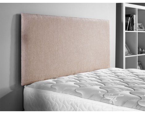 ValuFurniture Chenille Fabric Headboard - Caramel - Small Double 4ft
