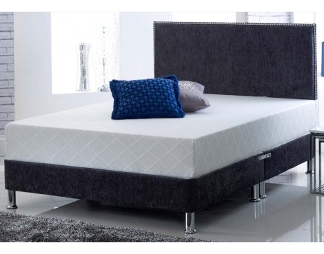Ultimum CoolBlue Memory King Mattress With 2 Memory Foam Pillows - Firm - Small Double 4ft
