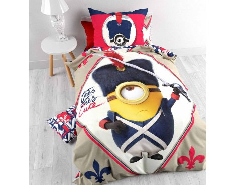 Universal Minions Sword Duvet Cover Set For Kids - Multicoloured - Single 3ft