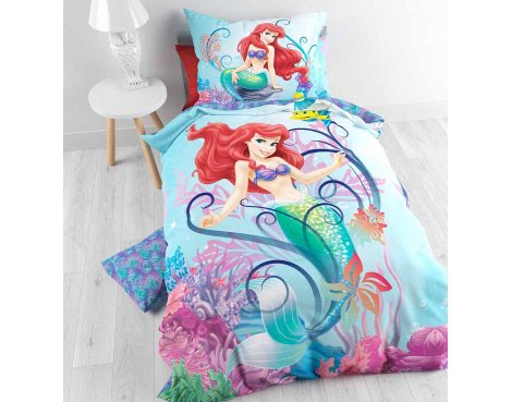 Disney Ariela 2015 Duvet Cover Set For Kids - Multicoloured - Single 3ft