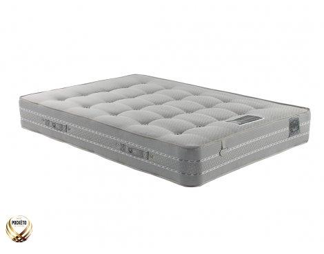 Sareer 1500 Pocketo Gel-Memory Foam Mattress - Medium - King 5ft