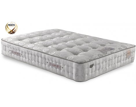 Sareer 3000 Pocketo Latex Mattress - Medium/Firm - Small Double 4ft