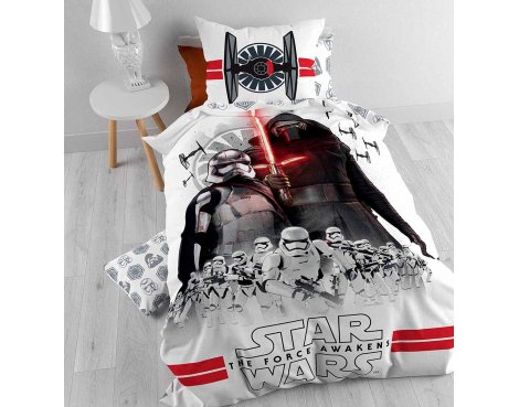Disney Star Wars Episode 7 The Force Duvet Cover Set For Kids - Multicoloured - Single 3ft