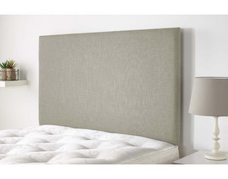 Aspire Furniture Derwent Headboard in Malham Weave Fabric - Pearle - Single 3ft