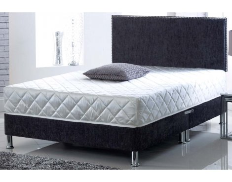 Ultimum CoolBlue Super Coil & Memory Mattress With 2 Pillows - Super King 6ft
