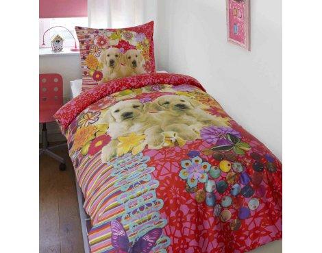 Dreamhouse Maya and Mila Duvet Cover Set For Kids - Multicoloured - Single 3ft