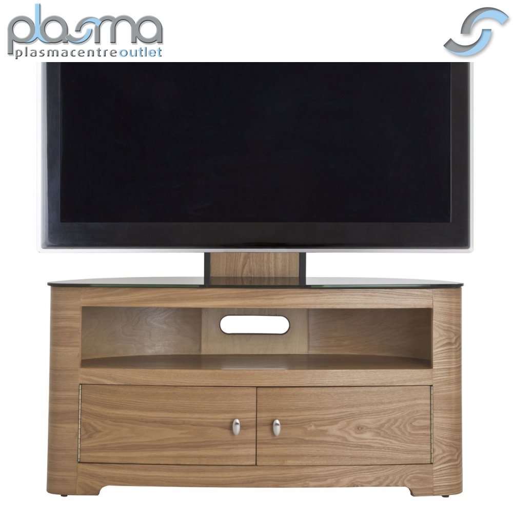 Avf oak blenheim tv stand with mount for up to 55 ebay for Avf furniture