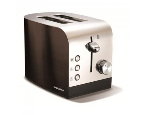 Morphy Richards 44209 Accents Black Toaster