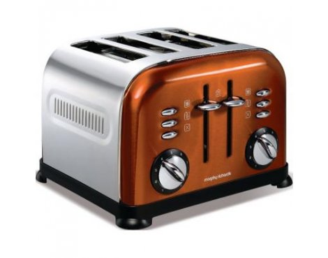 Morphy Richards 44744 Accents Copper Toaster