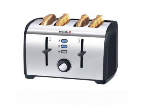 Breville VTT377 Polished Stainless Steel 4-Slice Toaster